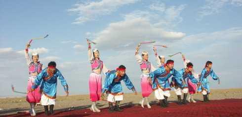 蒙古族民间舞——硬腕组合