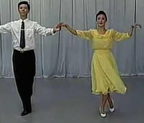 交谊舞教学视频(一)