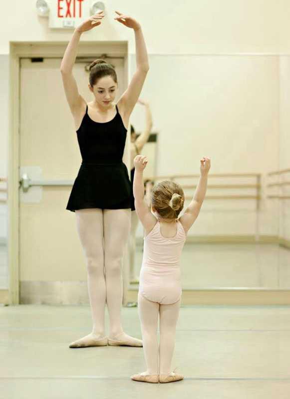 学习芭蕾舞正确的站立姿势讲解