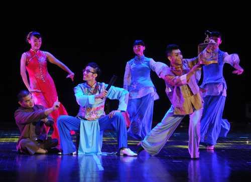 舞蹈演员的表演创造