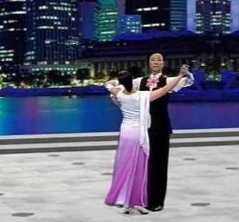 交谊舞布鲁斯基本舞步