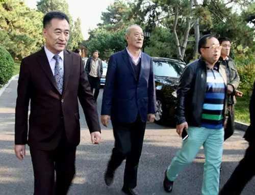 十一届政协副主席厉无畏先生莅临远东舞蹈活动现场指导工作