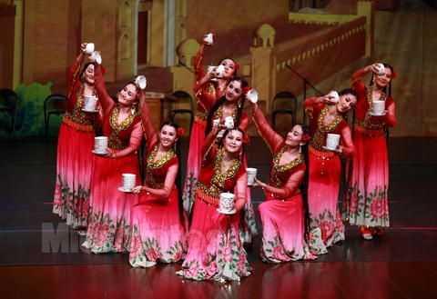 维族舞蹈基本综合训练组合