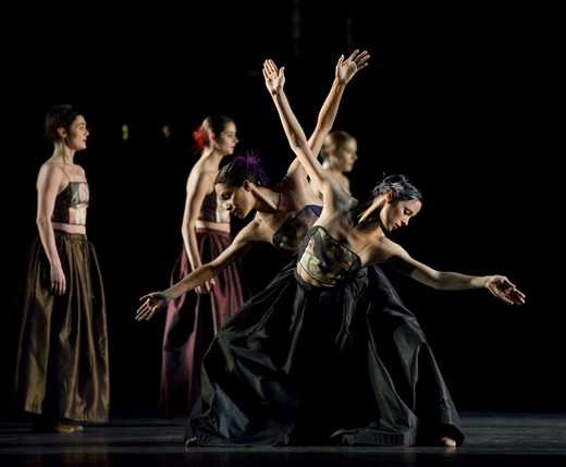 现代交谊舞区分四要素