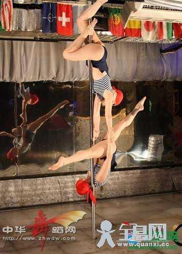 中国成钢管舞世锦赛参赛国 独特舞蹈令粉丝疯狂