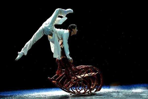 中国舞弹跳的特点