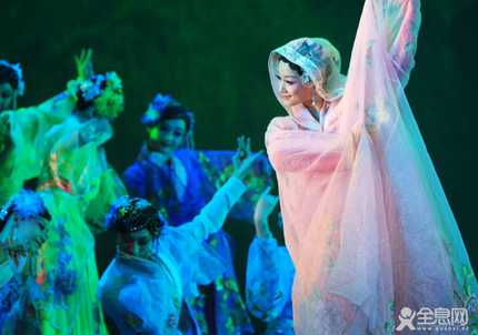 中国古典舞阴柔美占主导地位