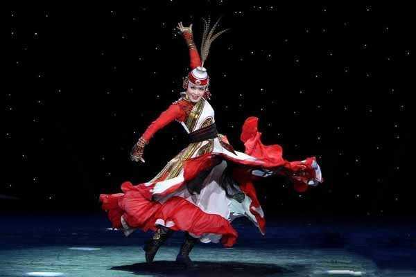 中国舞旋转的特点
