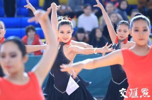 第十二届学校江苏省体育舞蹈锦标赛落幕