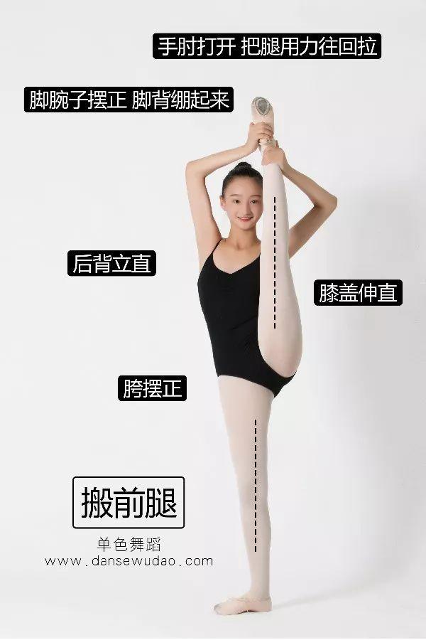 成人学舞蹈,软开度如何搞定?