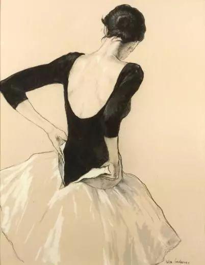 画家笔下的芭蕾舞